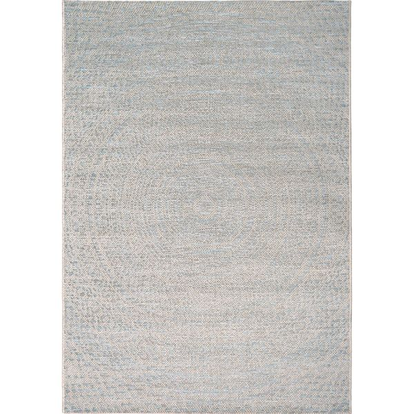 Cerulean Wool Raw Blue Rectangular