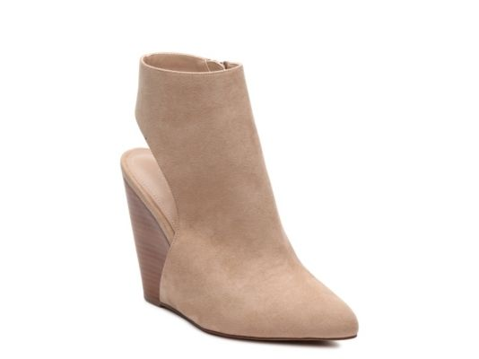 baf35206d482 Women s Charles by Charles David India Wedge Bootie - Taupe ...