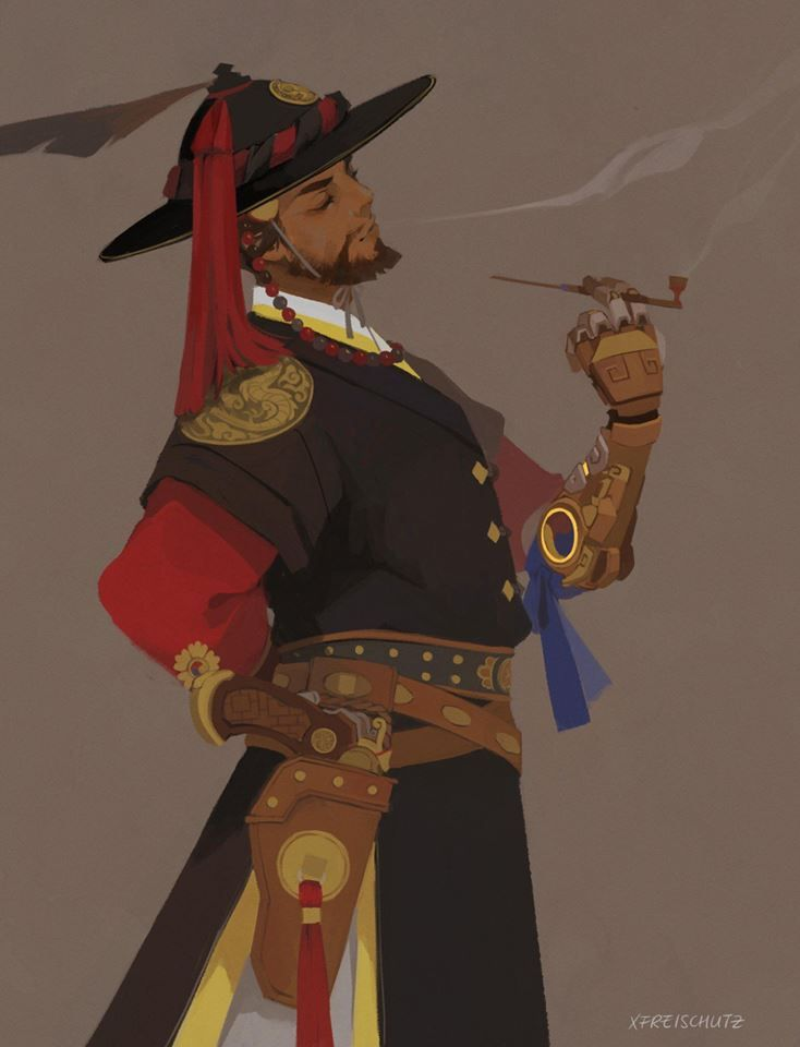 Magistrate McCree :) | Overwatch Fanart | Select Your ...