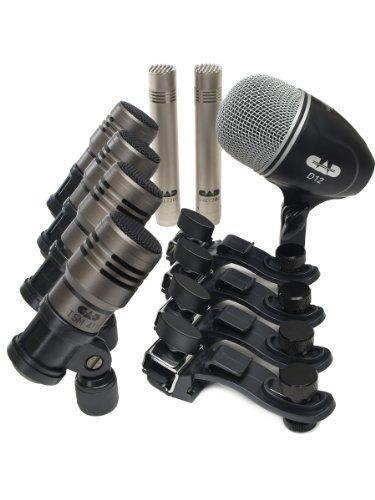 CAD Audio TOURING7 Premium 7-piece Drum Microphone Pack in