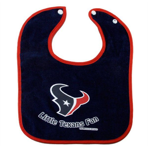 McArthur Houston Texans White Little Texans Fan Bib  64cee0e60