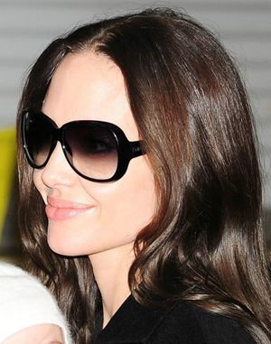 Angelina Jolie - I m a huge fan of black ombre sunglasses (these are by  Bottega Veneta) 9c0162714e