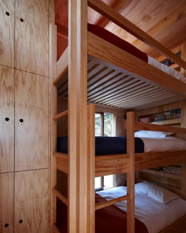 Best Tiny Beach House With Cool Bunk Beds Three Story Bunk 640 x 480