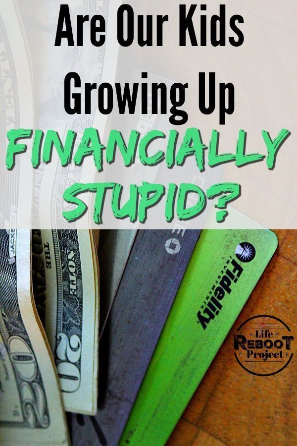 Are Our Kids Growing Up Personal Finance Stupid ...