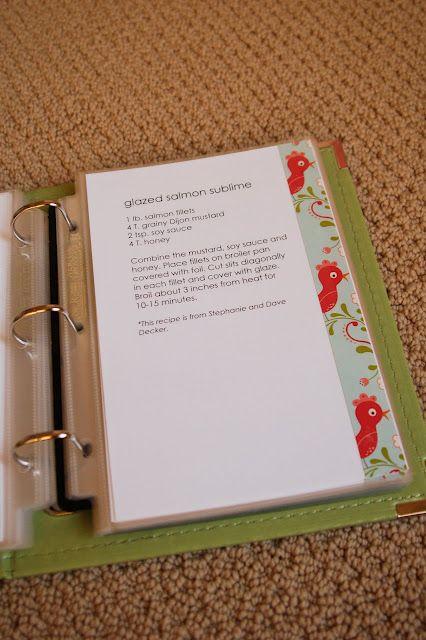 livre de recette id e de sommaire retenir scrapbooking pinterest. Black Bedroom Furniture Sets. Home Design Ideas