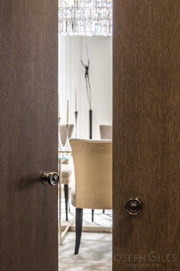 Joseph Giles Classic Door Knobs In Dark Bronze