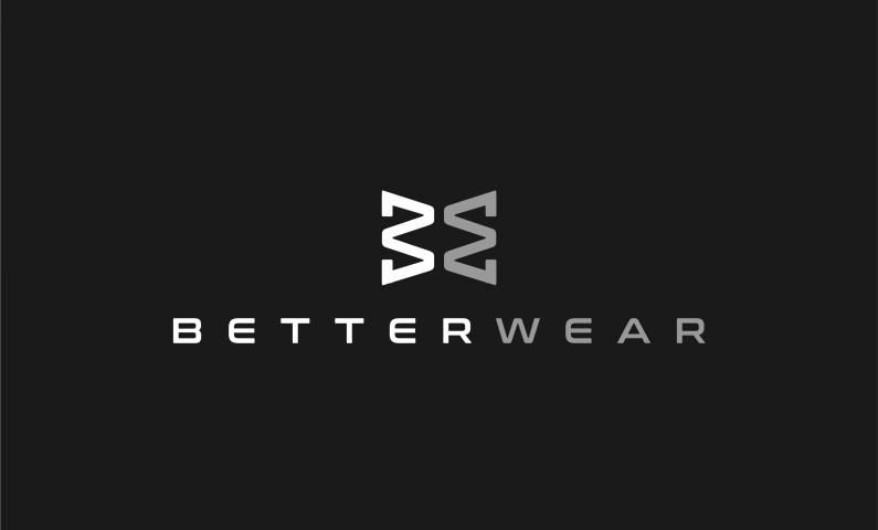 Betterwear Is Brand Name For Sale At Brandpa This Simple Combination Of The Words Better And Wear Clothing Brand Logos Shop Name Ideas Names For Companies
