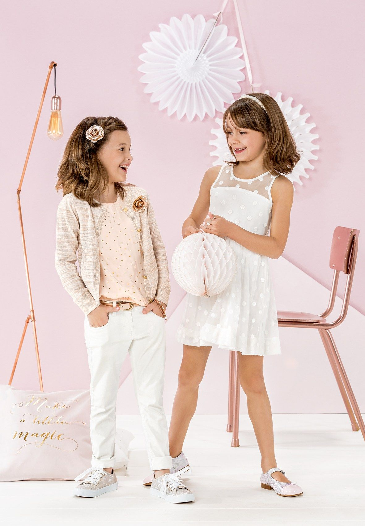 Fashion for kids  Festliches für die Kleinen, ob zur Kommunion, Taufe oder Hochzeit // JBC