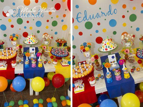Festa Tema Bolas Coloridas Pesquisa Google Festa Colorida