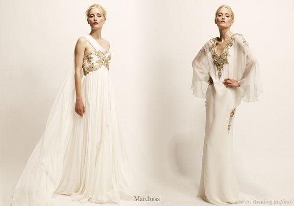 Marchesa Evening Gowns | Griechische göttin, Griechische und Kleider