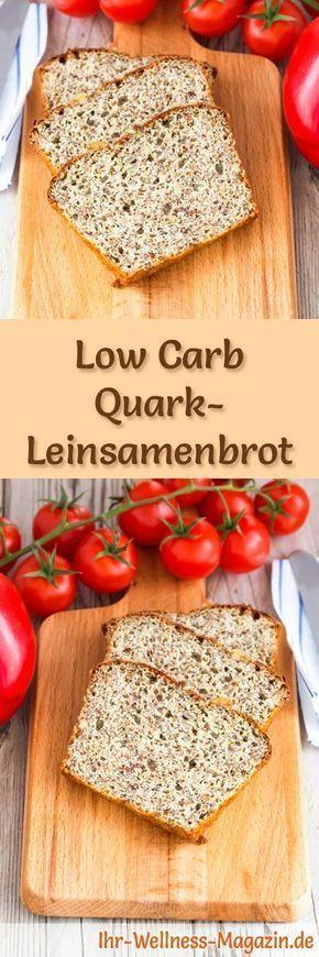 low carb quark leinsamenbrot rezept zum brot backen lc. Black Bedroom Furniture Sets. Home Design Ideas