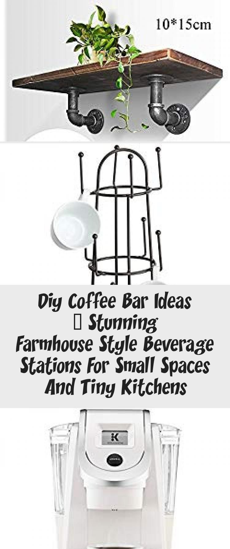 Photo of Diy Coffee Bar Ideas – Stunning Farmhouse Style Beverage Stations For Small Spaces And Tiny Kitchens – Decor