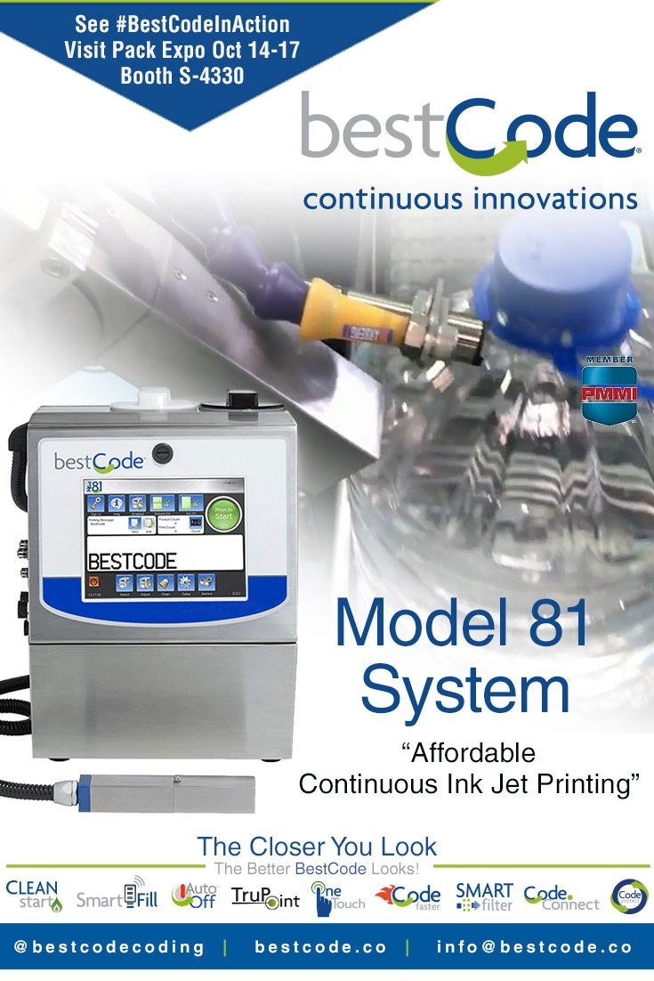 We've got the features! The BestCode Model 81 marking and
