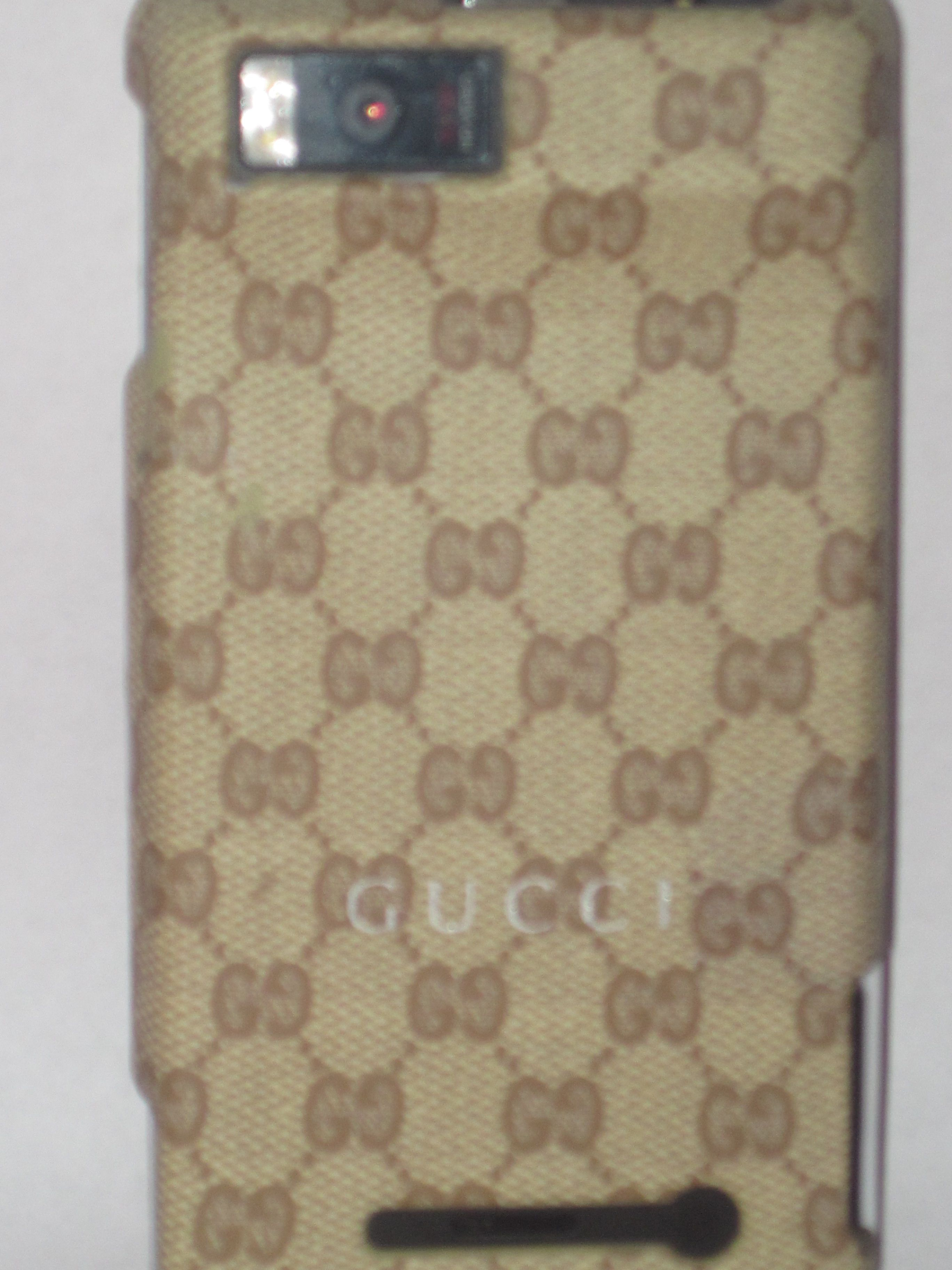 Gucci Droid X2 cell phone case
