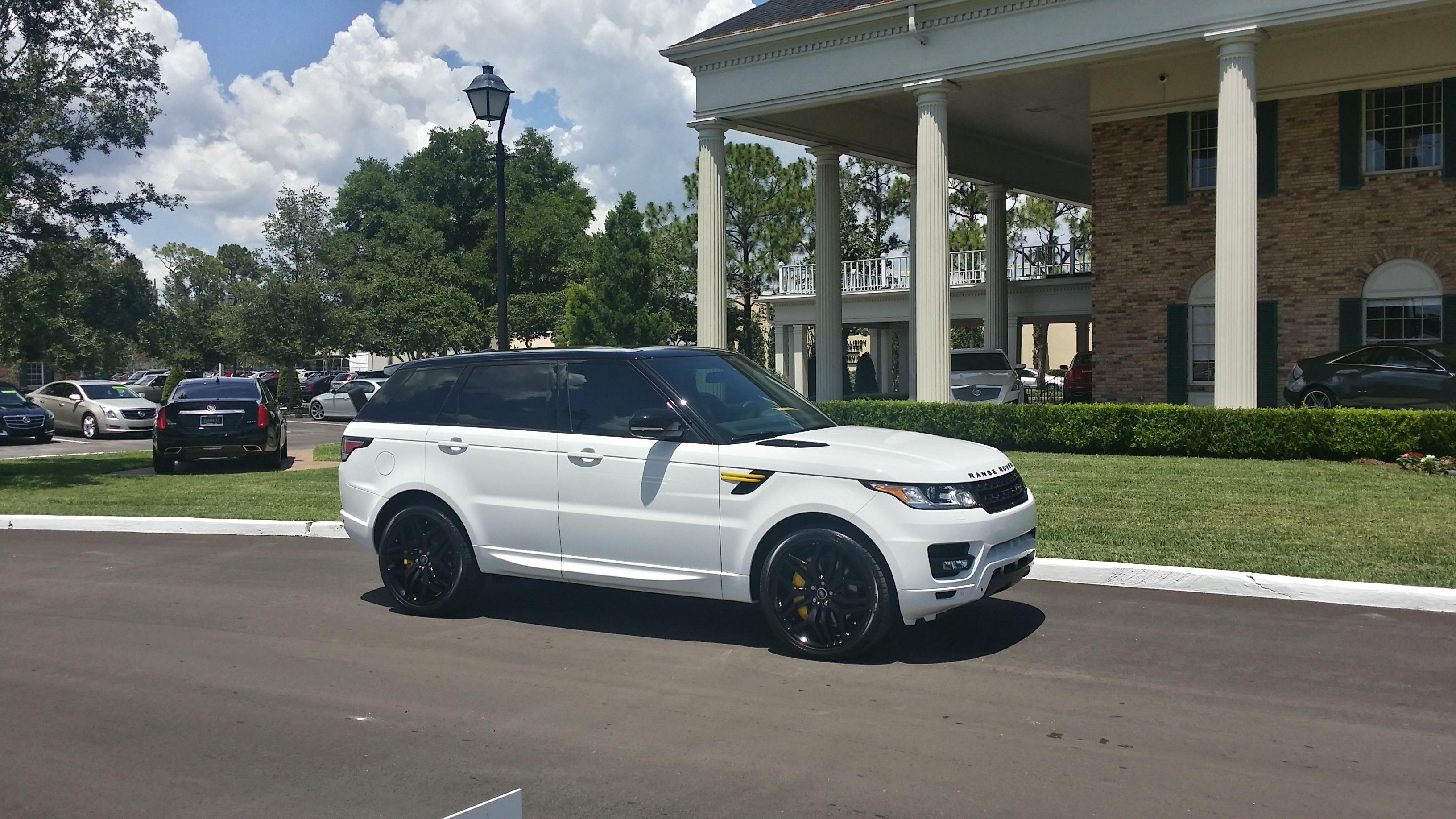 2014 Custom White Range Rover Sport Rangerover Sport Range Rover Sport Land Rover Jaguar Land Rover