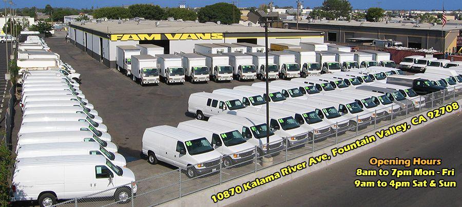 Fam Vans Specializing In Used Cargo Vans Passenger Vans Box Trucks And Commercial Vehicles Sales Service Commercial Vehicle Commercial Van Trucks For Sale