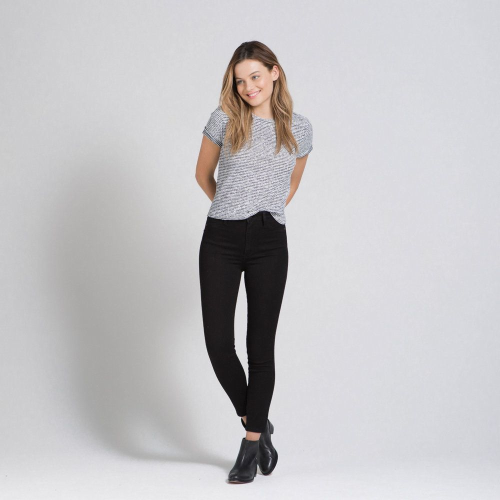 Womens Cara High Rise Jean Ankle Legging | Womens Now Trending | Abercrombie.com