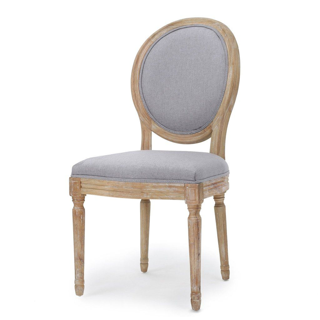 Hawthorne French Country Upholstered Weathered Wood Dining Chair Set Of 2 Fabric Dining Chairs Dining Chairs Vintage Dining Chairs