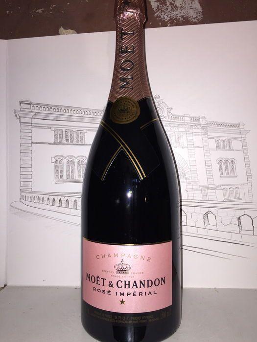 Moët & Chandon Rosé Imperial - 1 magnum (15 l)  1 magnum champagneMoët & Chandon Rosé Imperial  EUR 75.00  Meer informatie