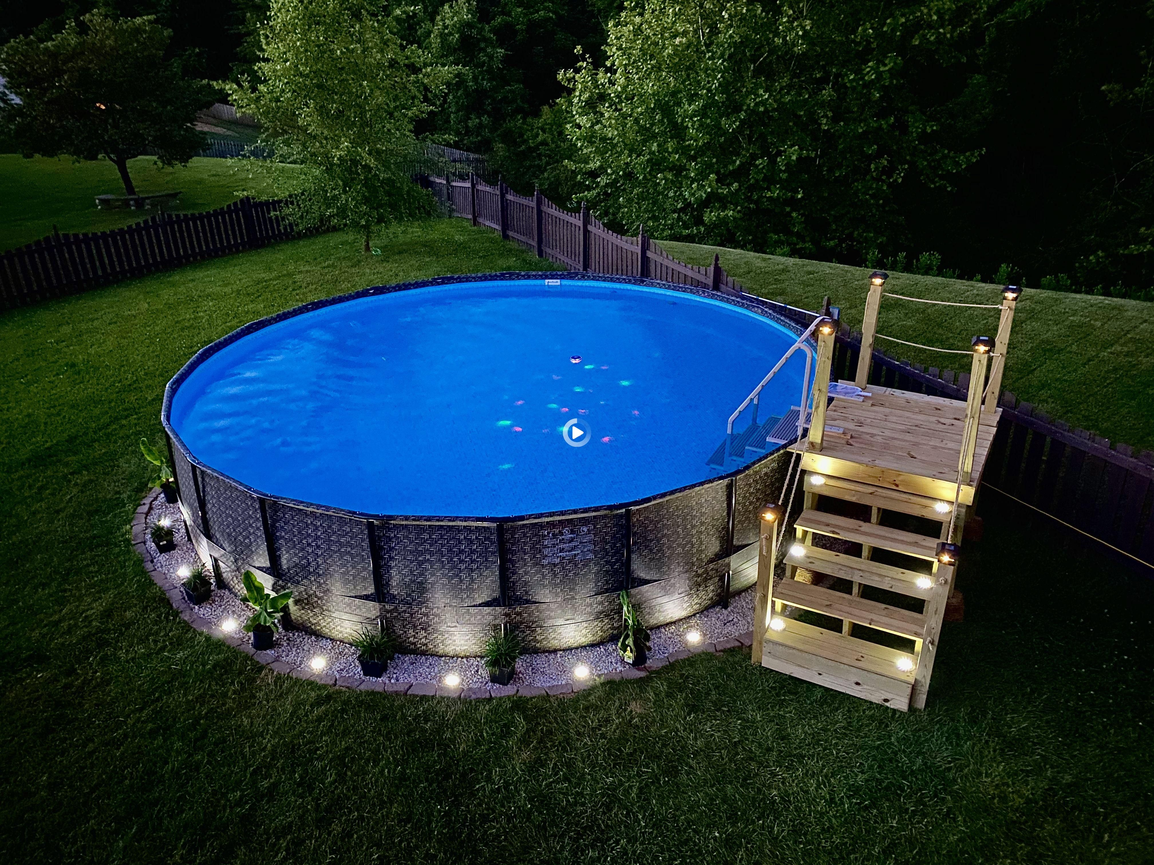 Pin On Eye Makeup Backyard landscaping ideas with above ground pool