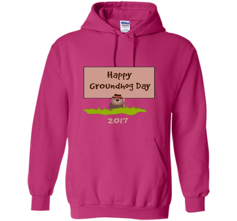 Happy Groundhog Day 2017 T-Shirt