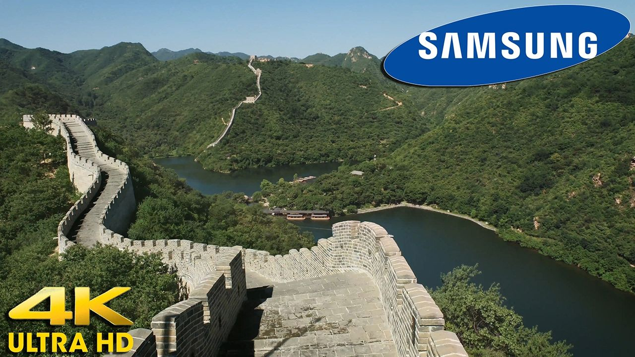 SAMSUNG 4K ULTRA HD TV Demo - China  The Great Wall In 4K  ULTRA HD