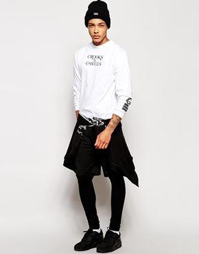 Agrandir Crooks & Castles - Stickup - T-shirt à manches longues