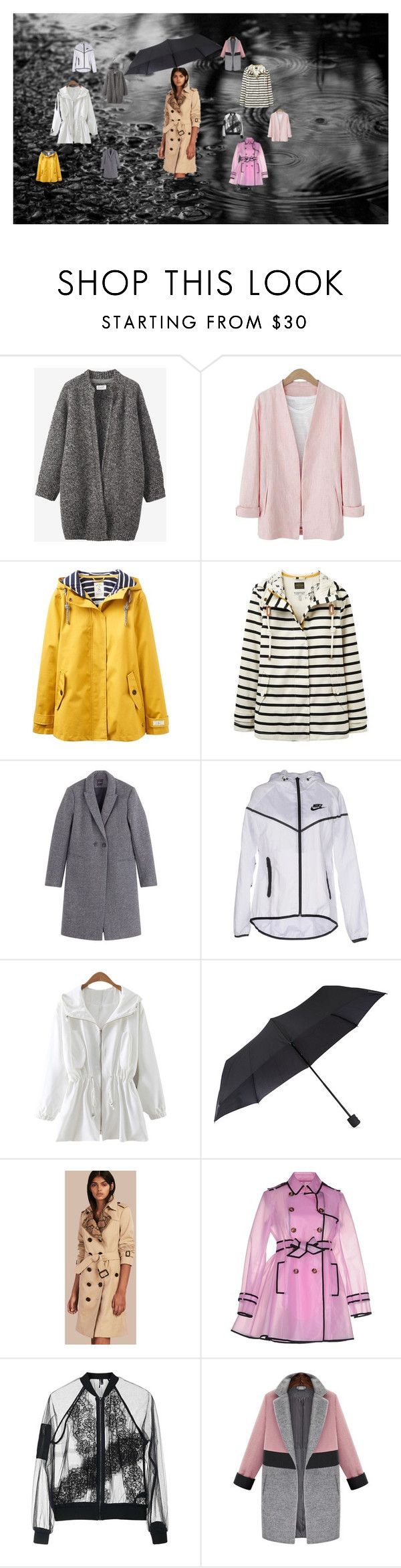 """""""rain"""" by alexia2101 on Polyvore featuring mode, Toast, Joules, NIKE, Fulton, RED Valentino en Topshop"""