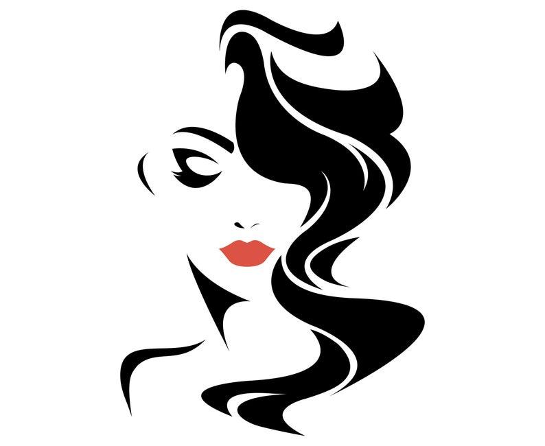 salon silhouette Google Search Silhouette art, Logo