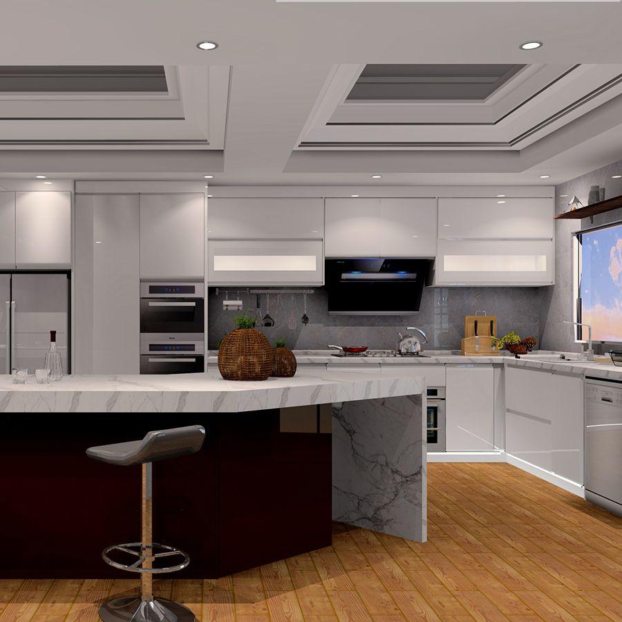 Best White Melamine Kitchen Cabinet Kitchen Furniture Metal 400 x 300