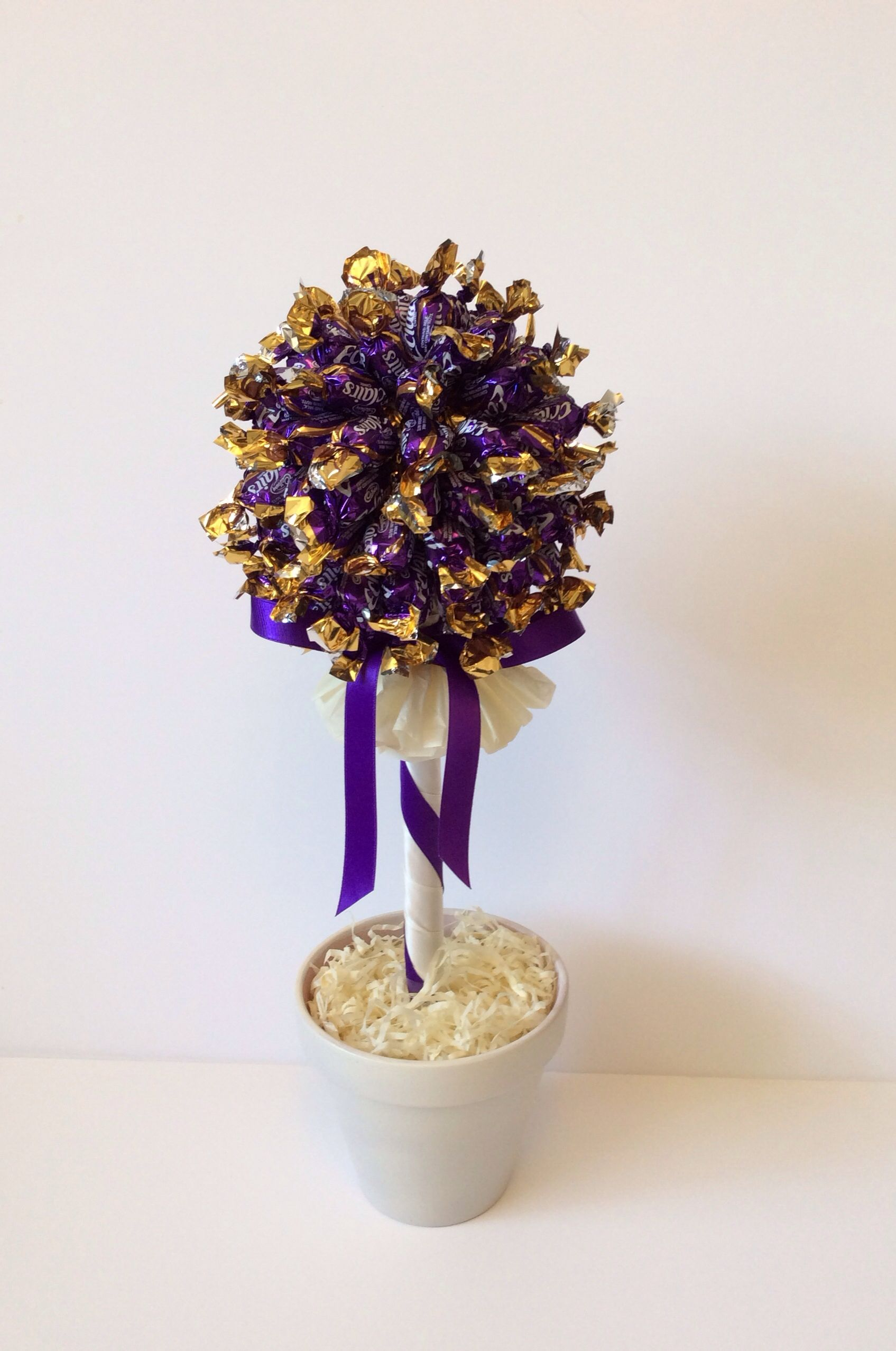 Cadbury dairy milk minis chocolate tree | Gift ideas | Pinterest ...