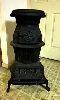 Vintage Manchester Foundry Cast Iron Wood Coal Burning