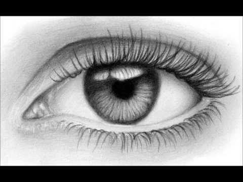 Como Dibujar Un Ojo Realista Facil Ojos Dibujados A Lapiz Ojos A Lapiz Dibujos De Ojos