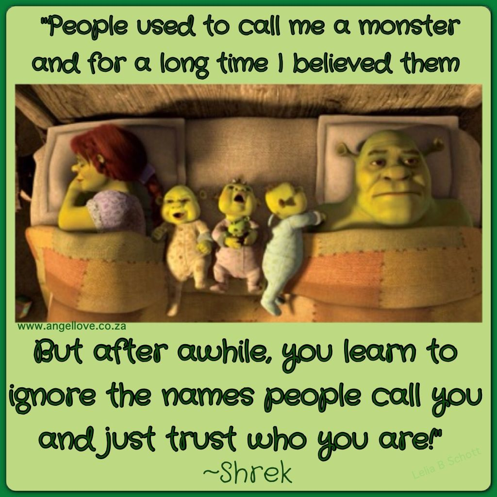 Shrek Quotes Enchanting Shrek Quote  Quotes & Jokes  Pinterest  Shrek Quotes Shrek And