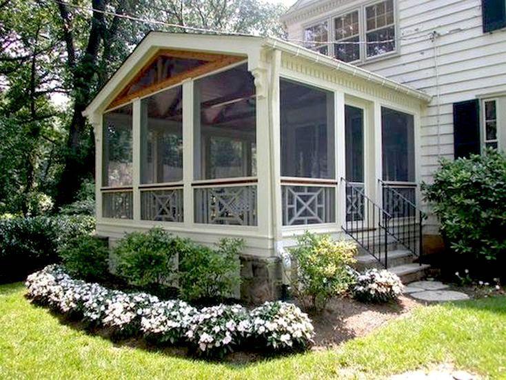 Creative Screened Porch Design ideas Deck Pinterest Porch