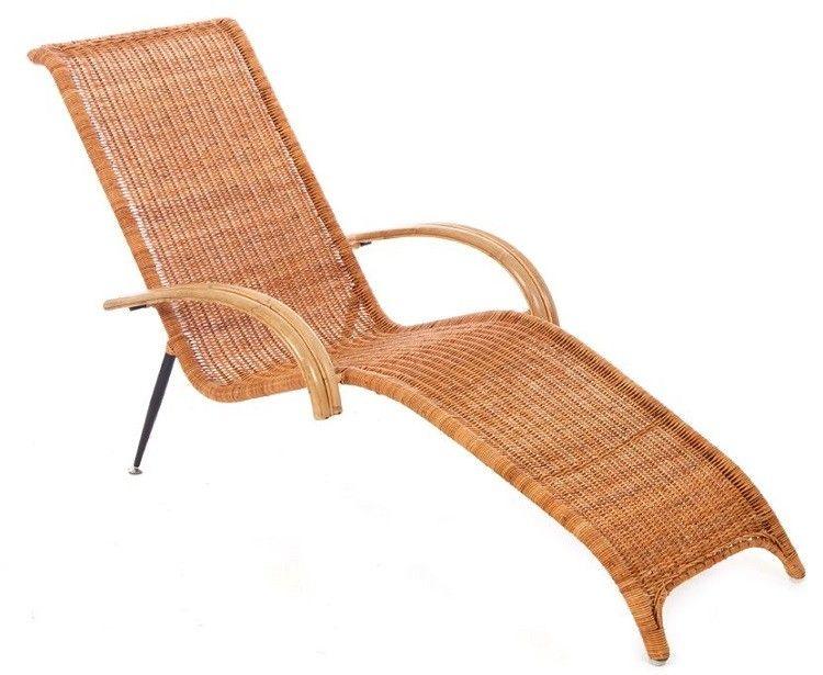 Ligbed Tuin Ikea : Retro rattan ligbed bd design originals dominidesign