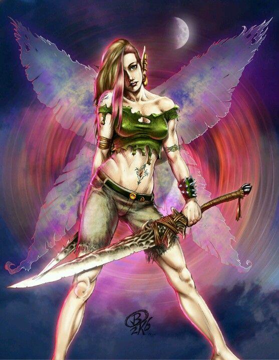 Badass faeries
