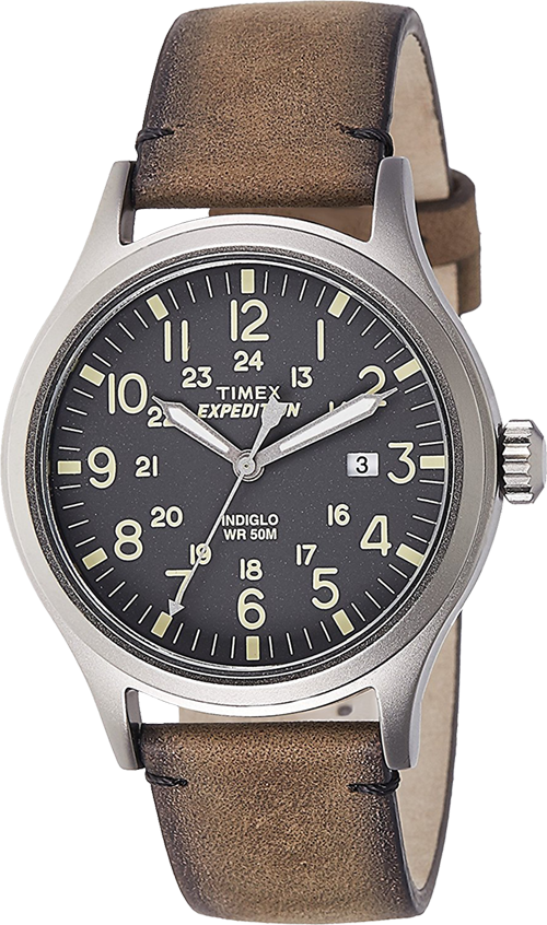 161d4ddcc1ef Buy Timex Expedition Analog Grey Dial Men s Watch - TW4B01700 from Amazon.