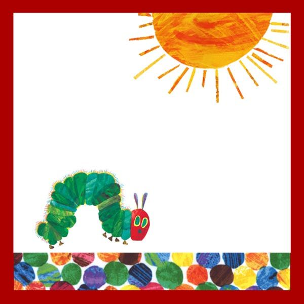 Very hungry caterpillar free printables hungry for Very hungry caterpillar templates free