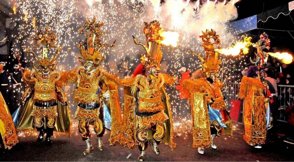 Oruro Bolivia Carnaval Carnavales Del Mundo Bolivia