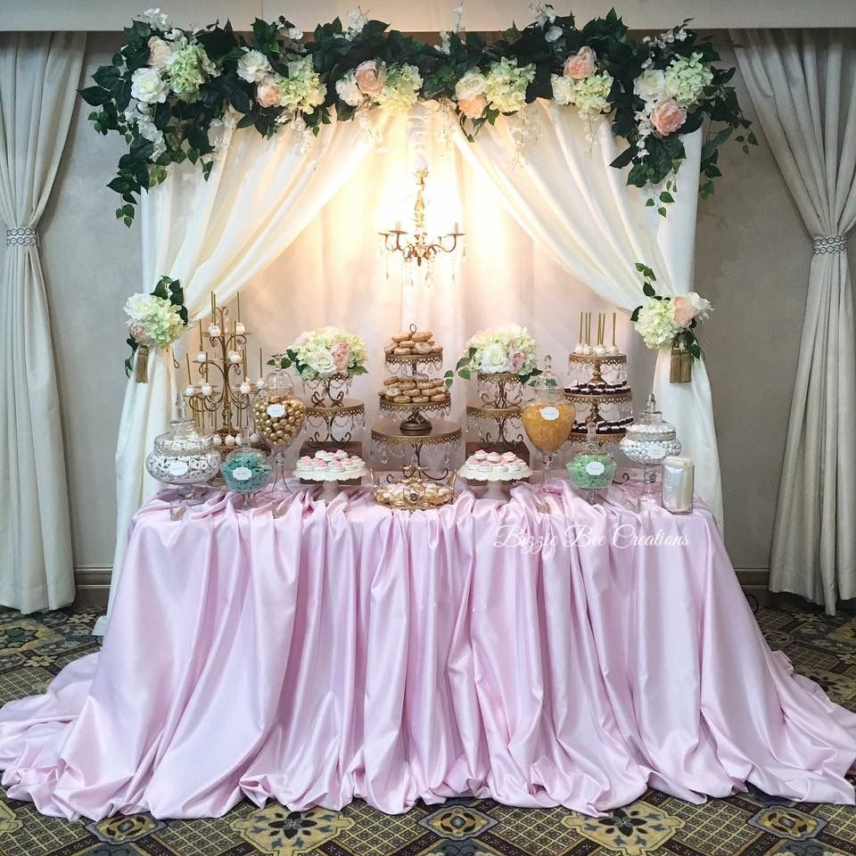 Wedding decorations backdrop  Pin by Susan mendez on Bailarina  Pinterest  Dessert table and