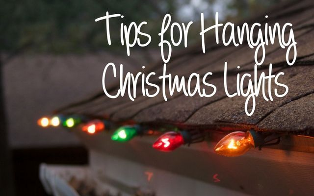 Tips for Hanging Outdoor Christmas Lights Outdoor christmas