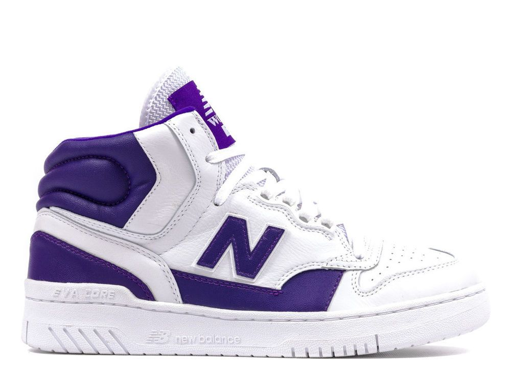 49bad41272 New Balance Mens 740 Worthy Leather Athletic High Tops Basketball ...