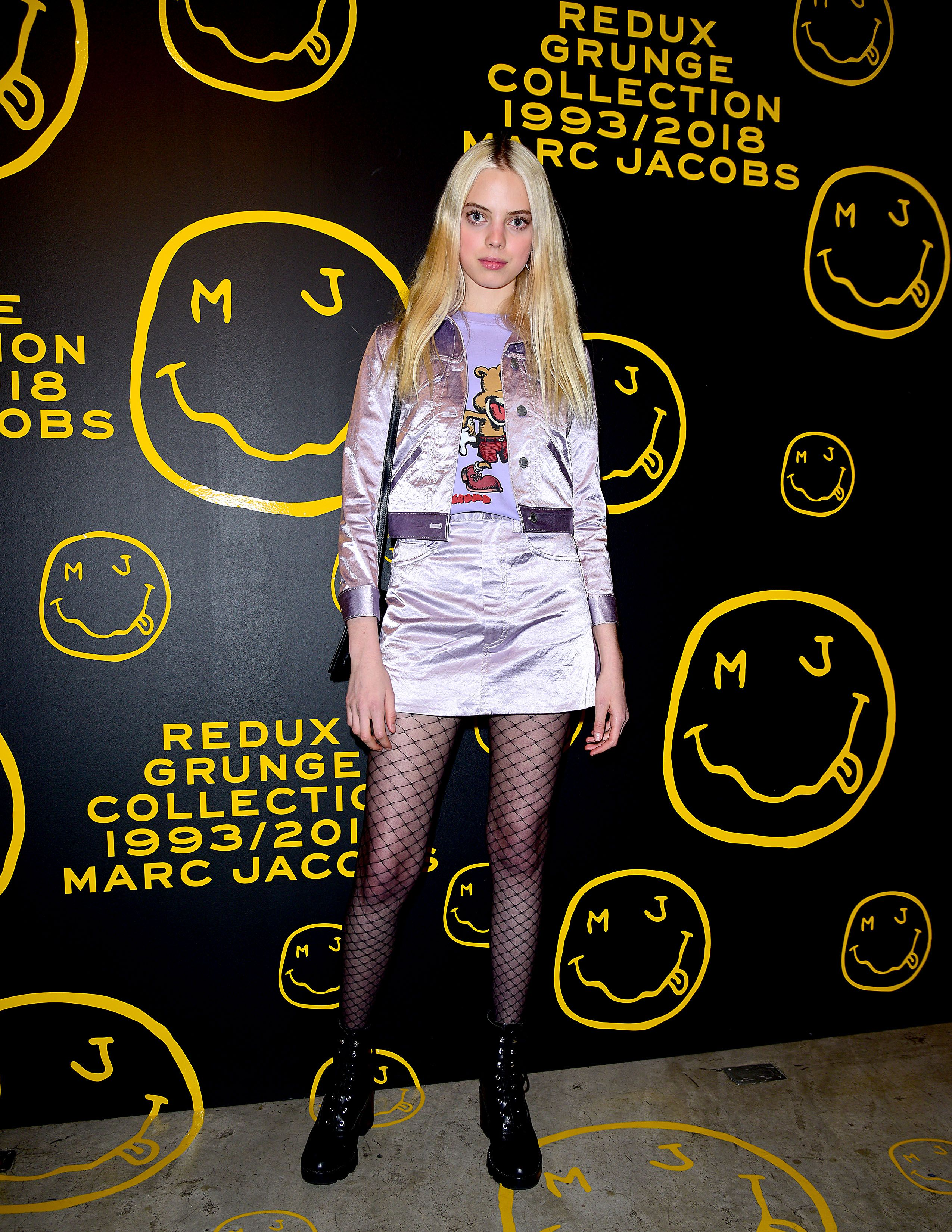 122a4430471414 Mariana Zaragoza celebrates the Marc Jacobs Redux Grunge Collection and the  opening of Marc Jacobs Madison