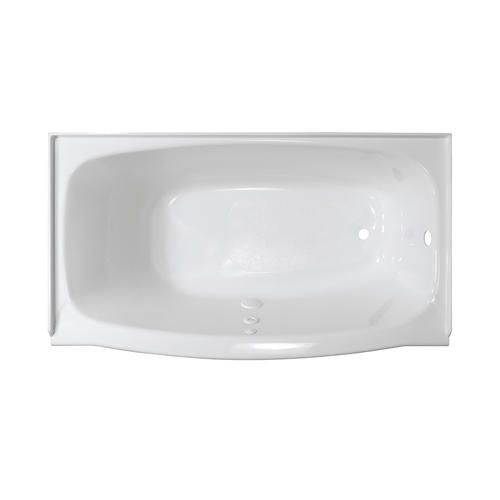 Lyons Contour 60 X 32 Heated Soaking Bathtub With Right Hand
