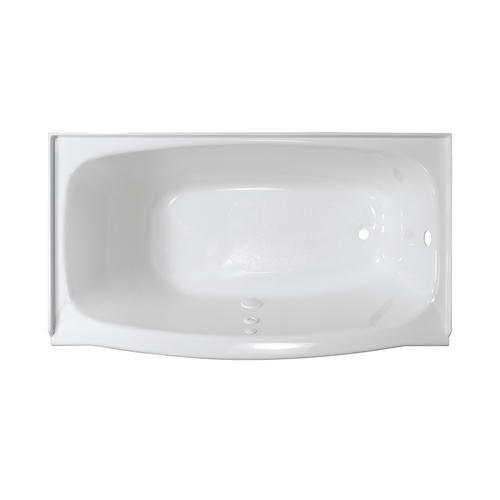 Lyons Industries Elite 4 5 Ft Left Drain Soaking Tub In White
