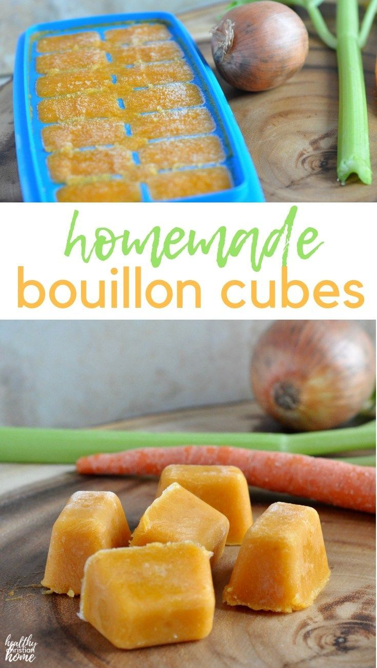Ditch toxic storebought cubes make these homemade