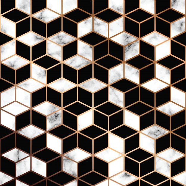 Vector Marble Texture, Seamless Pattern Design Wit