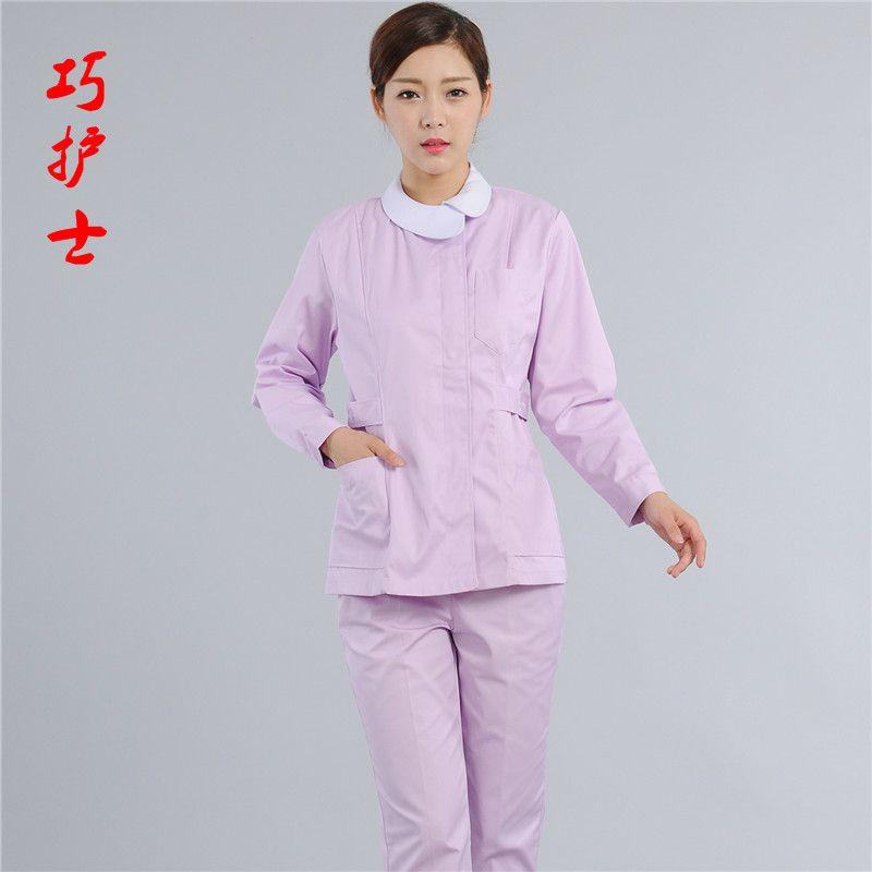 Hot Surgical Lab Coat Scrub Set New 2017 Women O-Neck Hospital ...