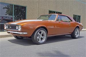 1967 Camaro 4 Sale Supermuscleparts Com Custom Burnt Orange Paint